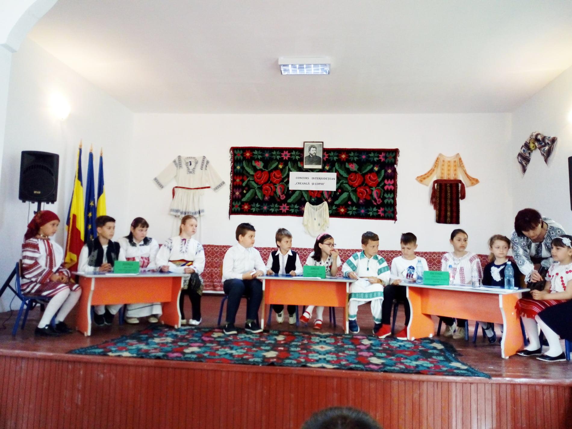 """O nouă ediție a concursului interjudețean """"Creangă și copiii"""", la Dulcești"""