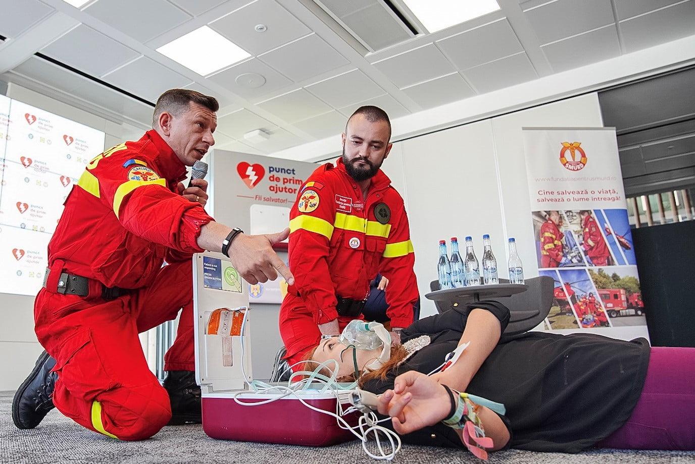 Magazinele LIDL sunt dotate cu echipamente pentru asistență medicală de urgență