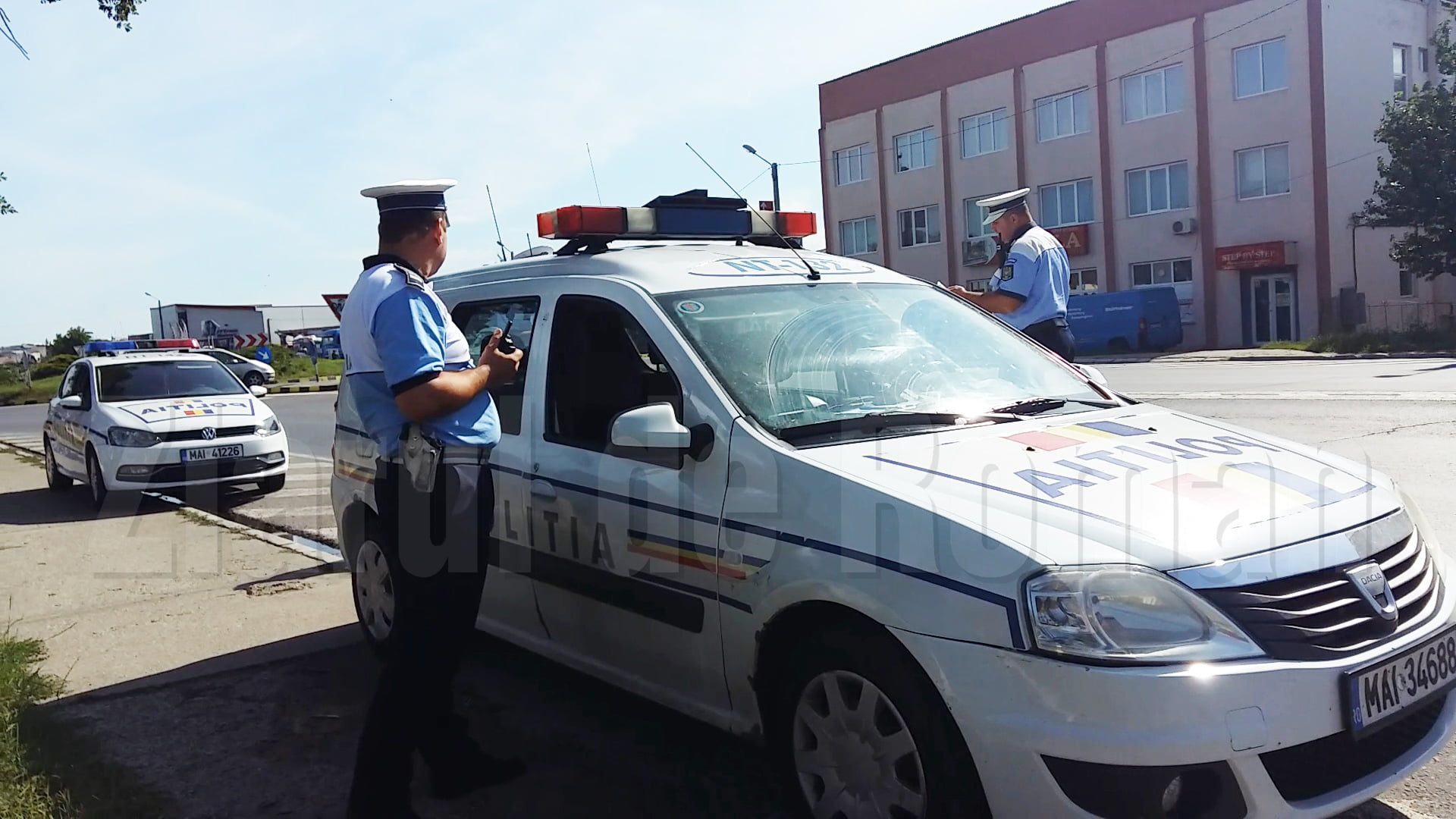 500 de vitezomani sancționați de polițiști, săptămâna trecută