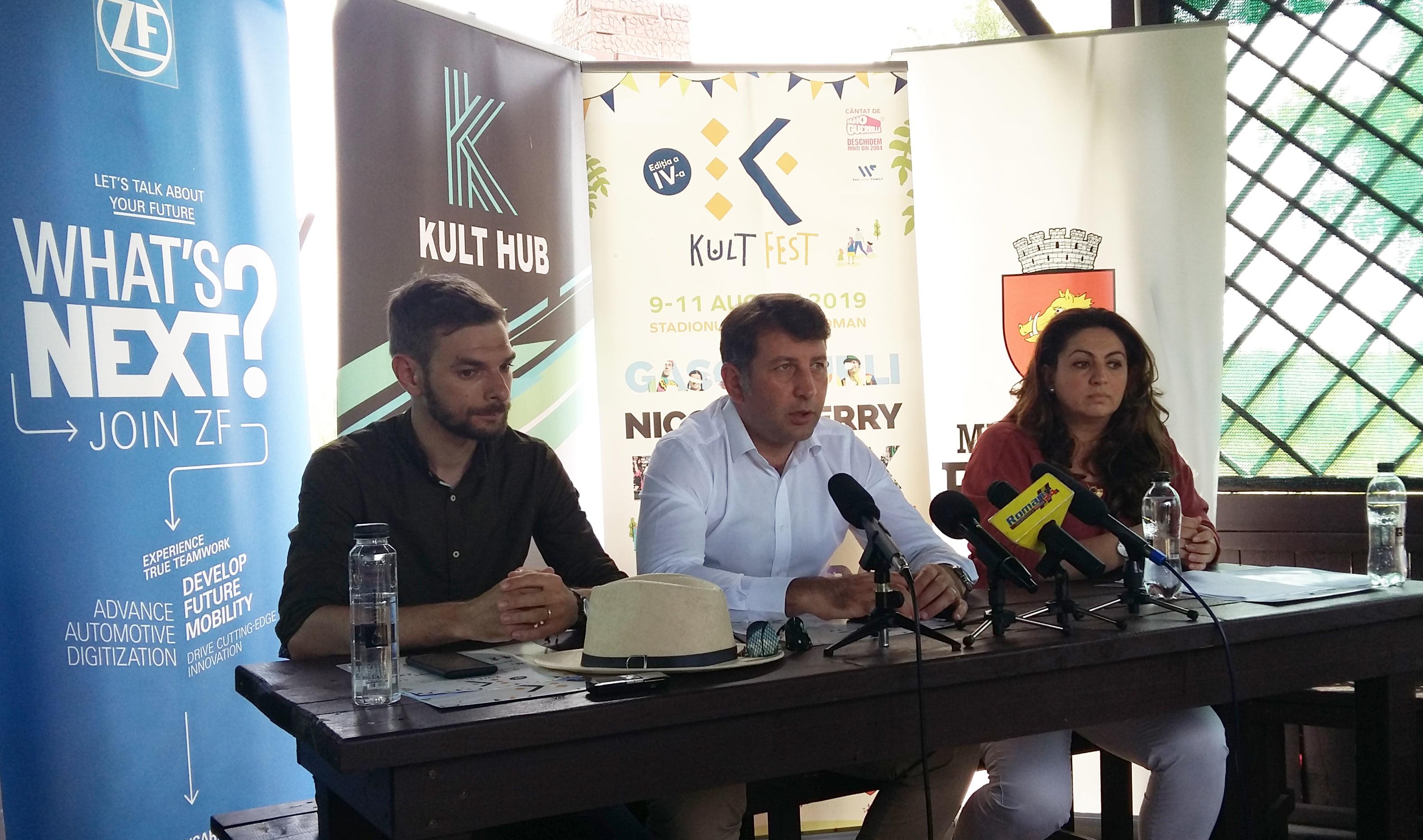 Noutățile Kult Fest 4. În luna august vin la Roman: Phoenix, Nicole Cherry, Subcarpați și Gașca Zurli