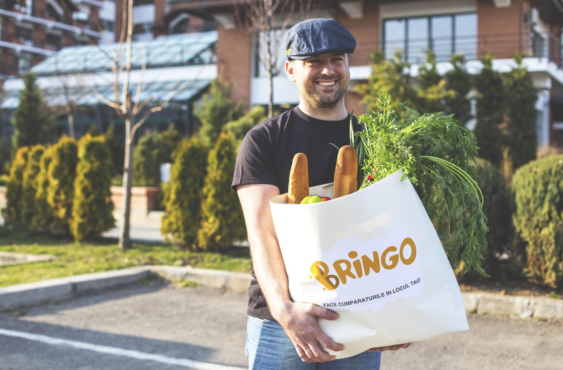 Bringo, aplicația care face cumpărăturile în locul tău, și-a extins aria de livrare în Roman