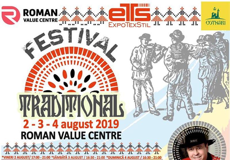 Festival cu muzică și produse tradiționale, săptămâna viitoare la Roman Value Centre