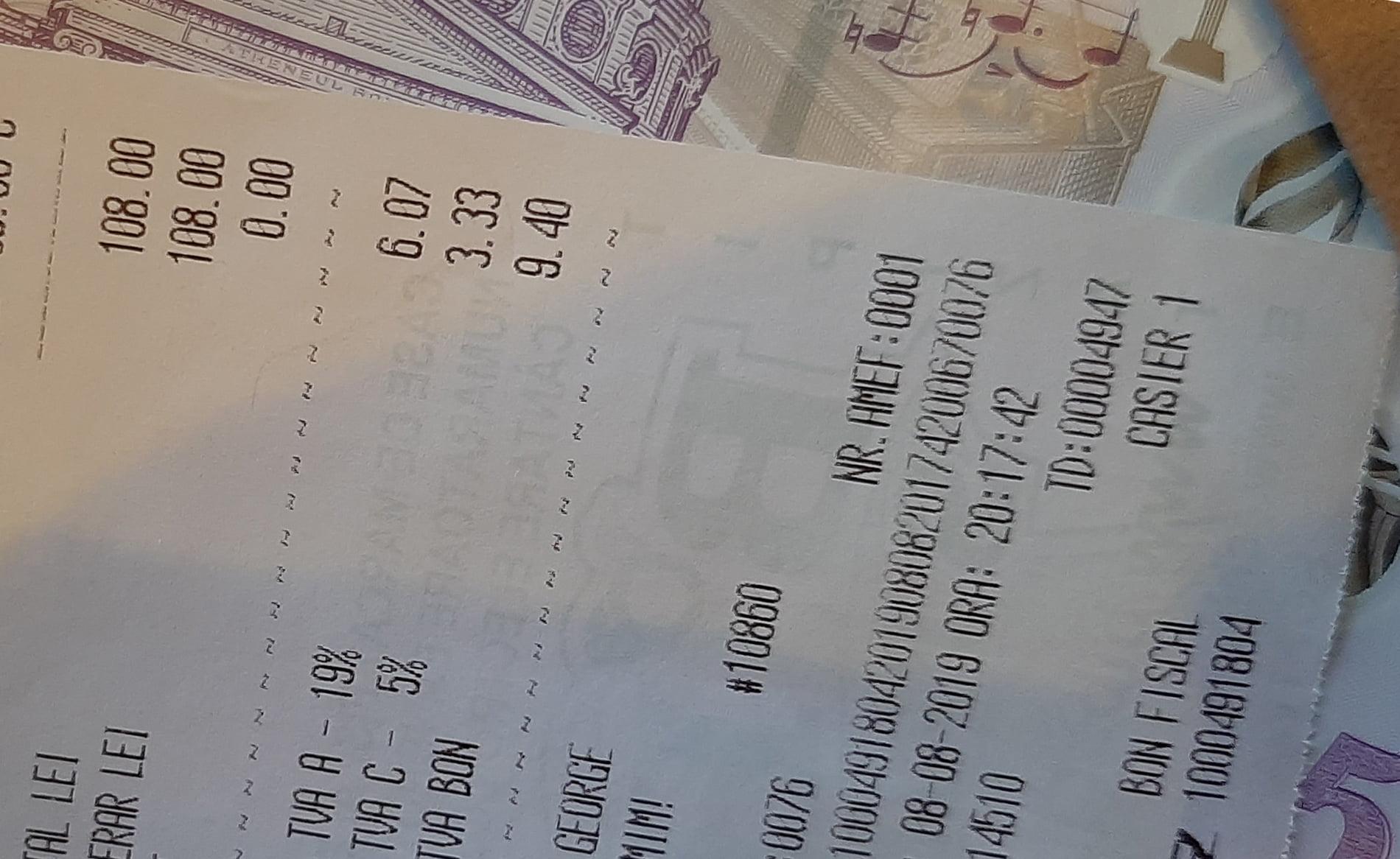 Cum se va plăti bacșișul, conform noilor reglementări ale Ministerului Finanțelor Publice