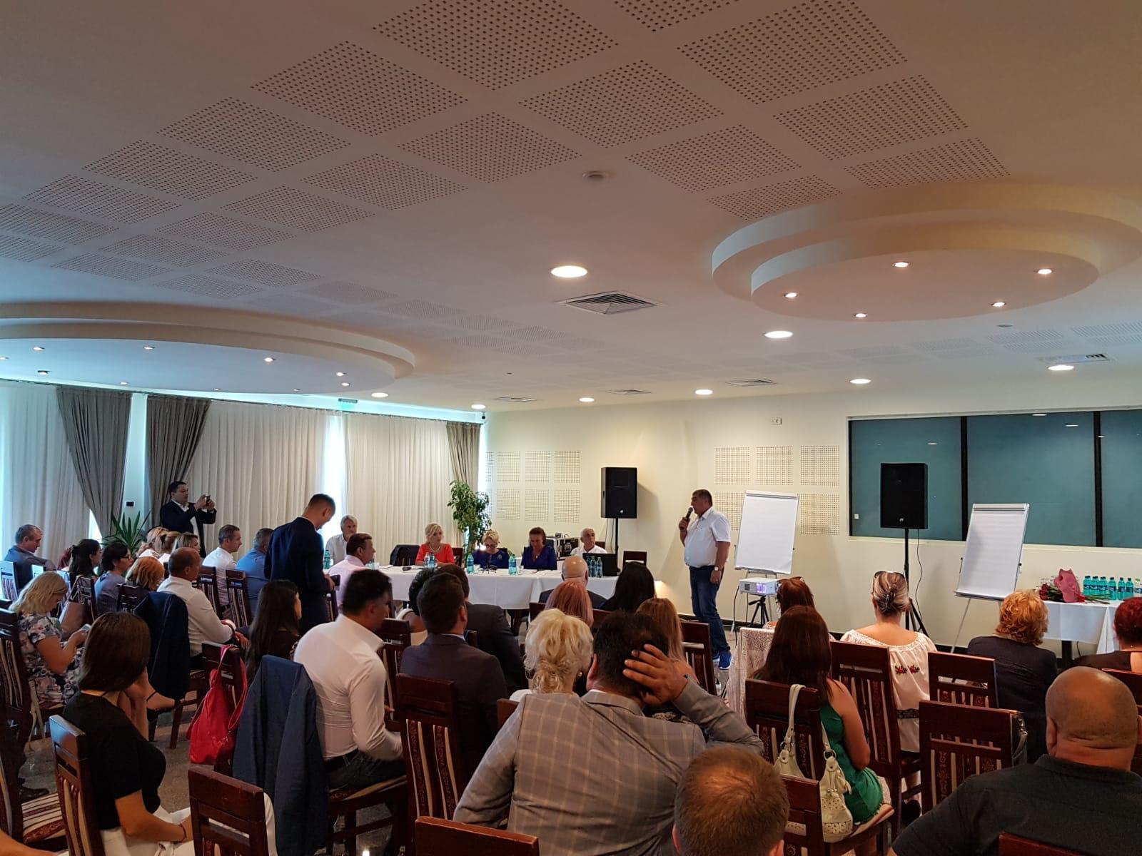 Senatorul Dan Manoliu, prezent la reuniunea cu președinții organizațiilor PSD din diaspora