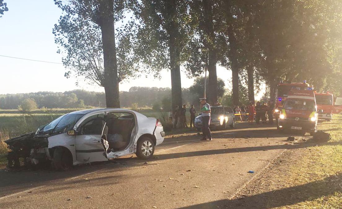 O depășire defectuoasă, cauza unui accident rutier petrecut la Sagna