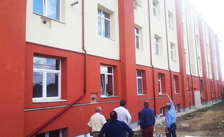 A fost finalizată reabilitarea termică a blocului 33 de pe strada Anton Pann
