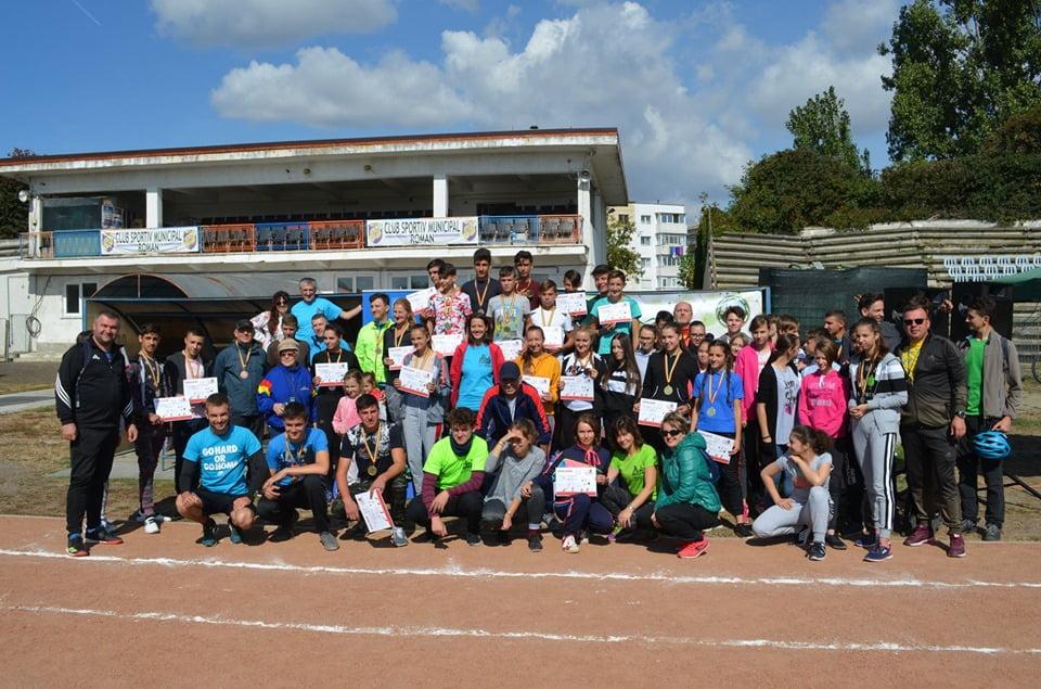 Câștigătorii concursurilor de ștafetă organizate cu prilejul Săptămânii Europene a Mobilității