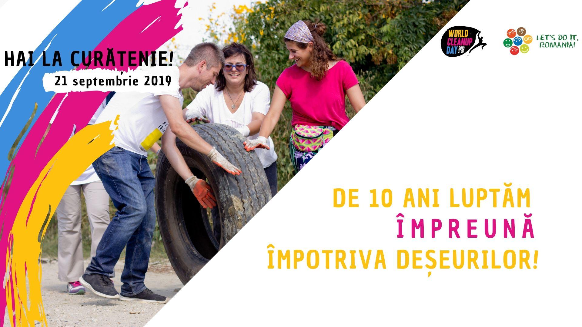 """""""Let's Do It, Romania!"""" – O nouă zi de curățenie națională, pe 21 septembrie, și în județul Neamț"""