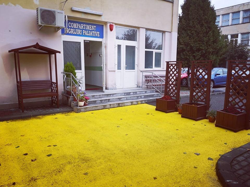 Un an de activitate pentru Compartimentul de Îngrijiri Paliative din cadrul Spitalului Roman