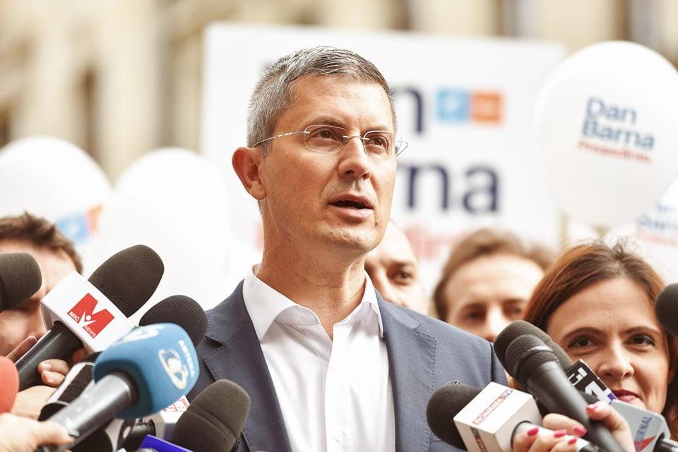 Dan Barna vine în Moldova să se întâlnească sâmbătă cu nemțenii la Roman și Piatra Neamț