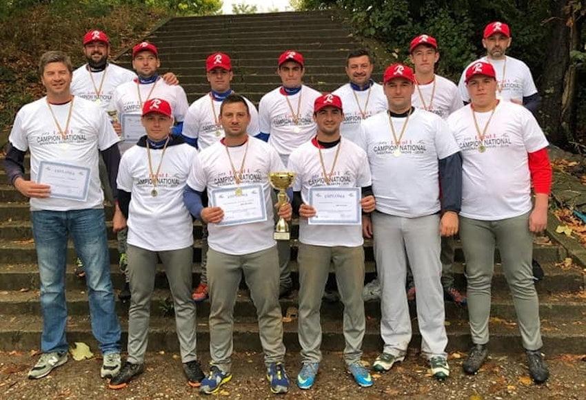 Echipa LPS Roman, campioană națională la baseball seniori