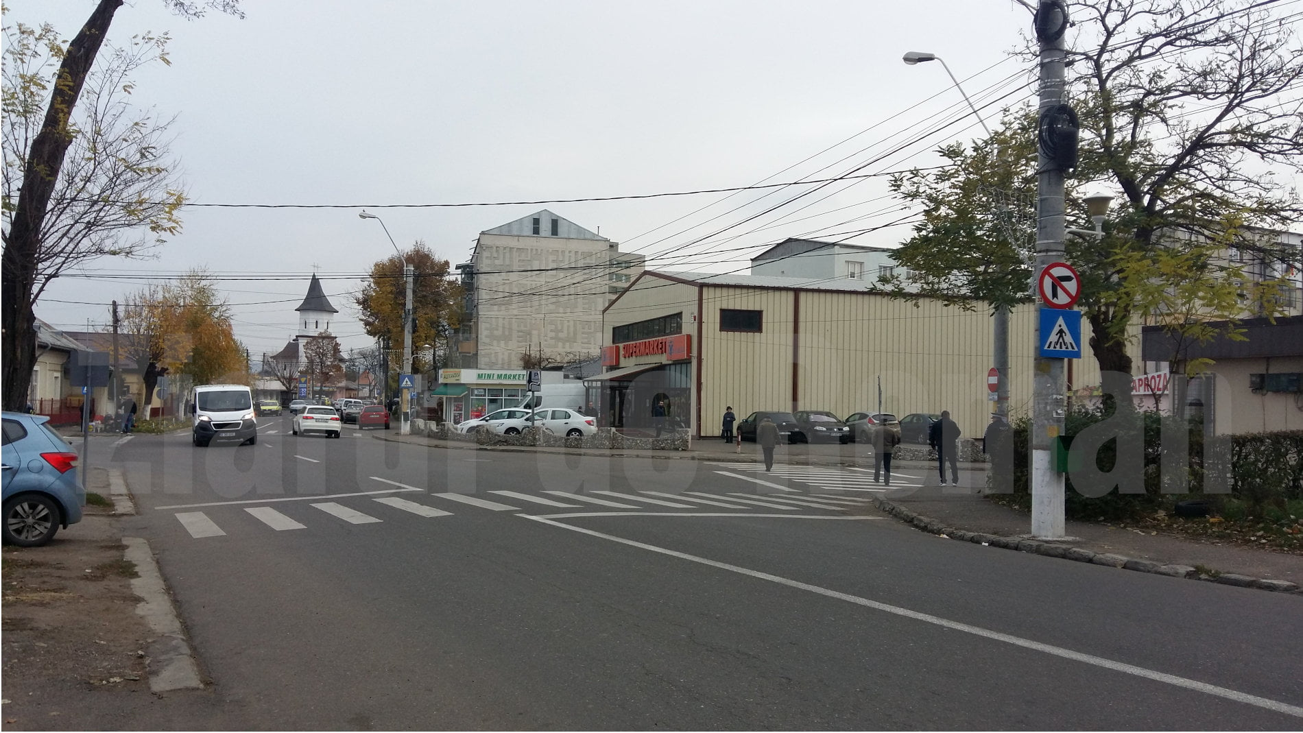 Un nou sens giratoriu pe bulevardul Republicii, la intersecția cu strada Mihai Eminescu