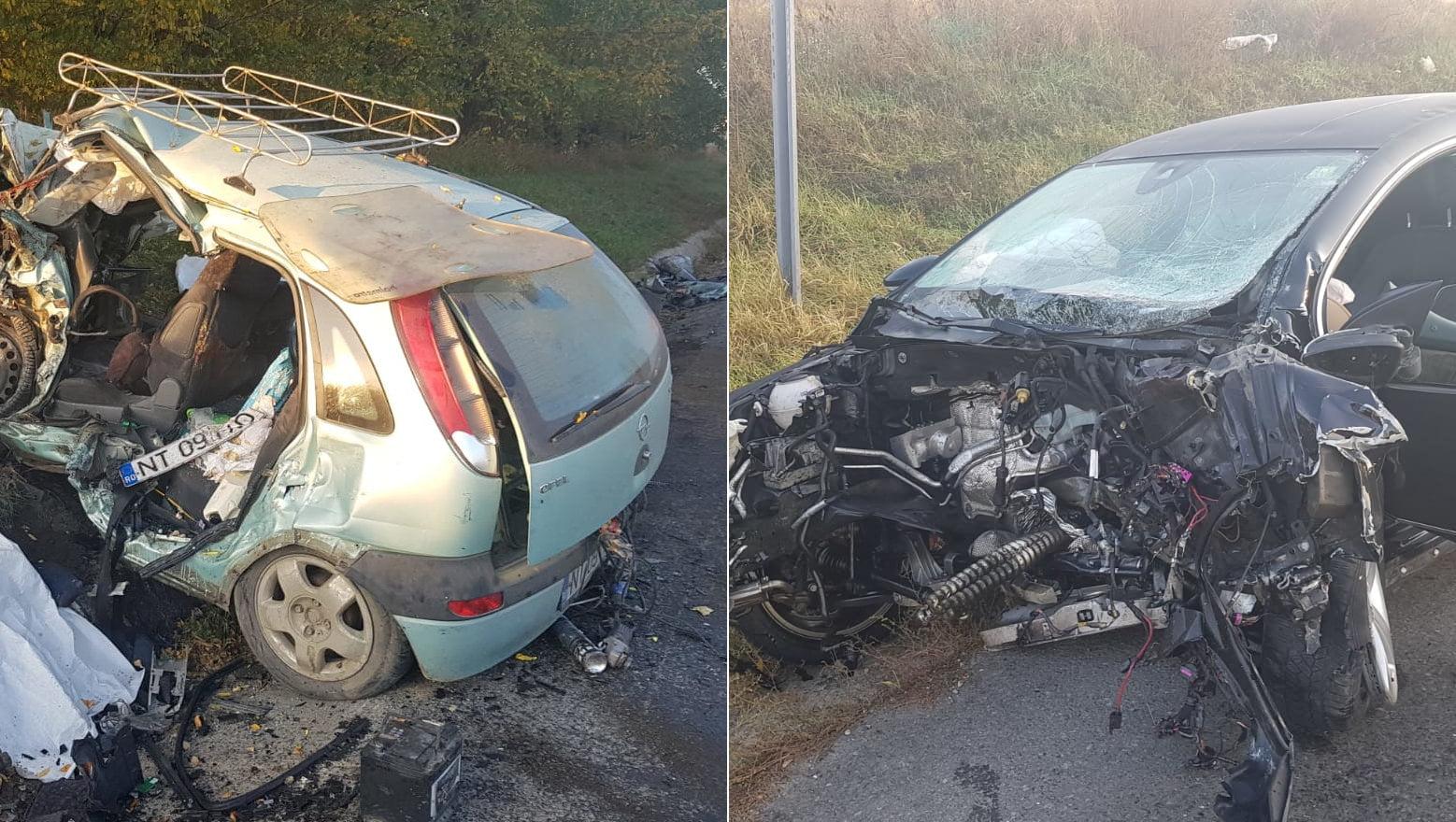 Doi romașcani și-au pierdut viața într-un accident rutier pe șoseaua spre Iași