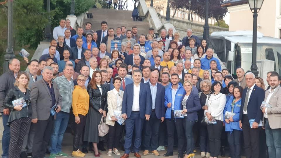 Liberalii nemțeni, oficial în campanie pentru Klaus Iohannis