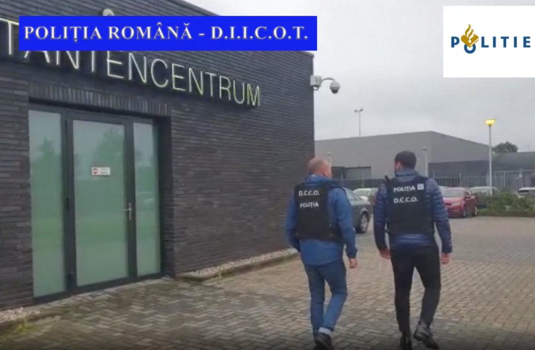 [VIDEO] Percheziții în Neamț, pentru destructurarea unei rețele care trafica tinere pentru prostituție în Olanda