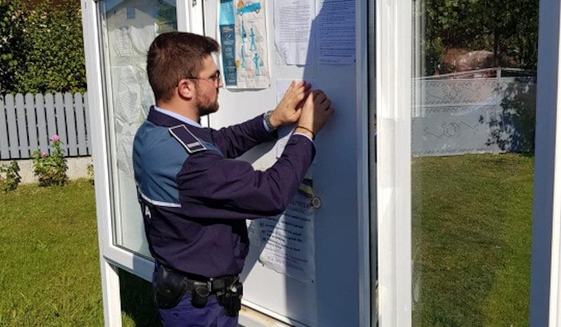 Campanie preventivă a polițiștilor pentru vârstnicii din comuna Gherăești