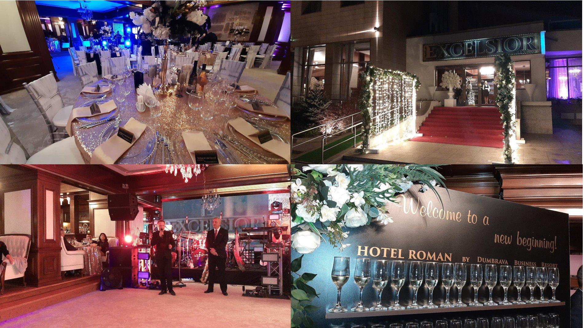 """A fost inaugurat Restaurantul """"Excelsior"""", noul restaurant al Hotelului Roman Plaza"""