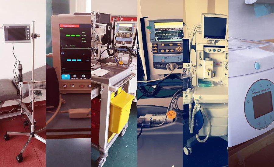 Noi investiții în aparatură medicală, la Spitalul Municipal de Urgență Roman