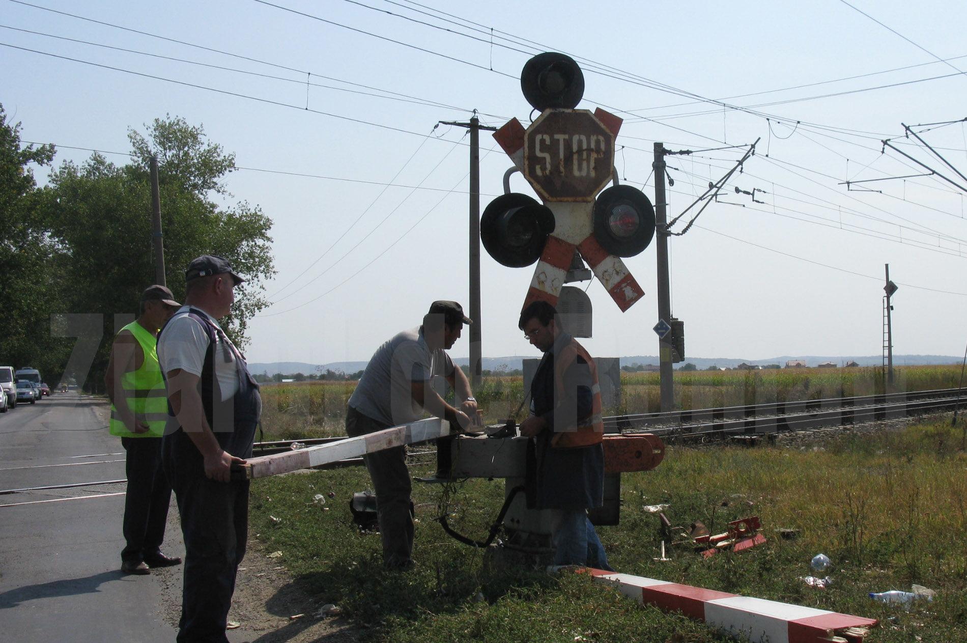 Treceri la nivel cu calea ferată din județul Neamț, modernizate cu bani europeni