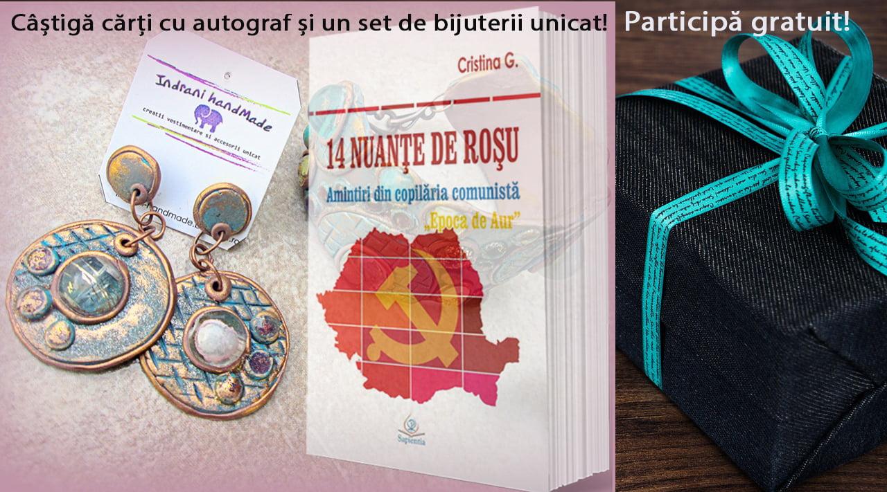 De ziua mea, cărți cu autograf și bijuterii unicat cadou pentru tine – guest post Cristina Gherghel