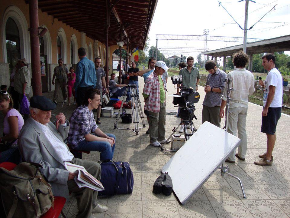 """Povestea """"Trenului foamei"""", filmul turnat în Gara Roman"""