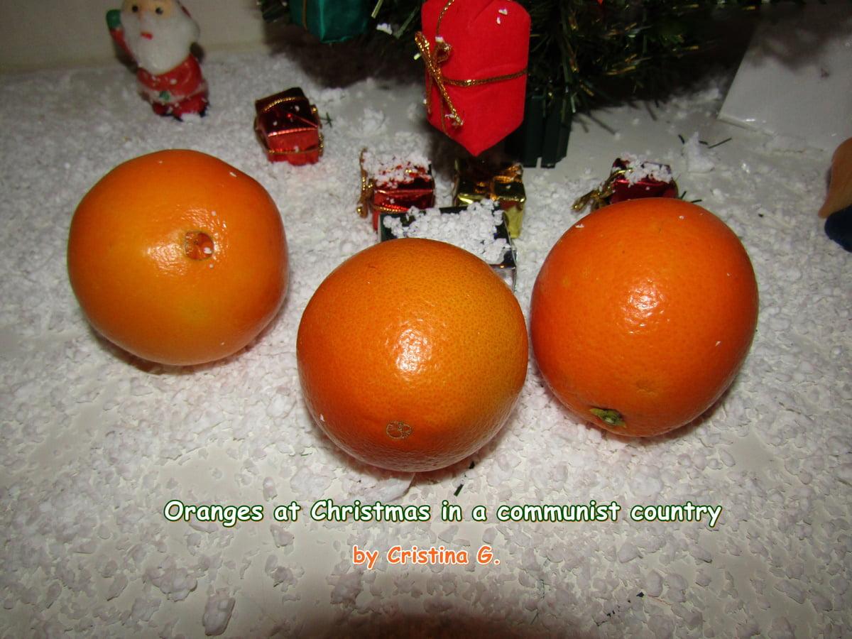 Portocalele de Crăciun pe vremuri comuniste – guest post Cristina Gherghel