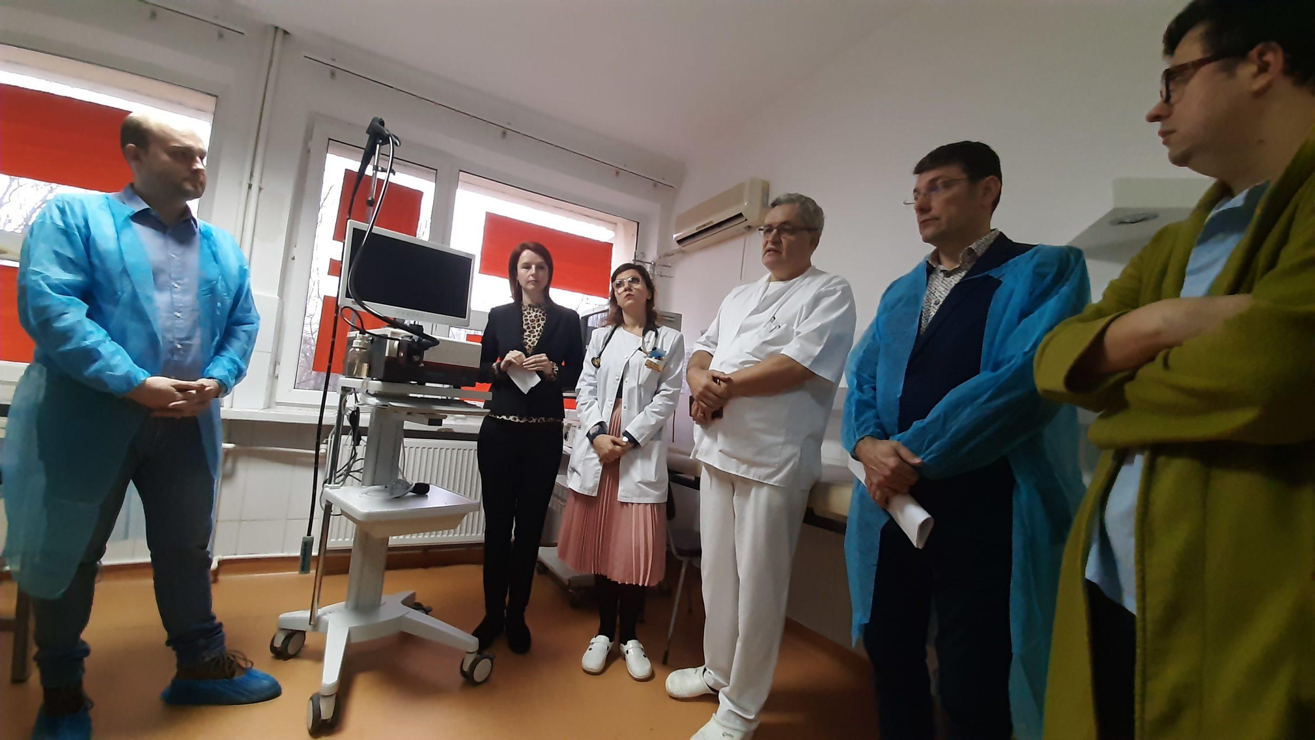 O nouă donație de aparatură din partea firmei Marcel pentru Spitalul Roman