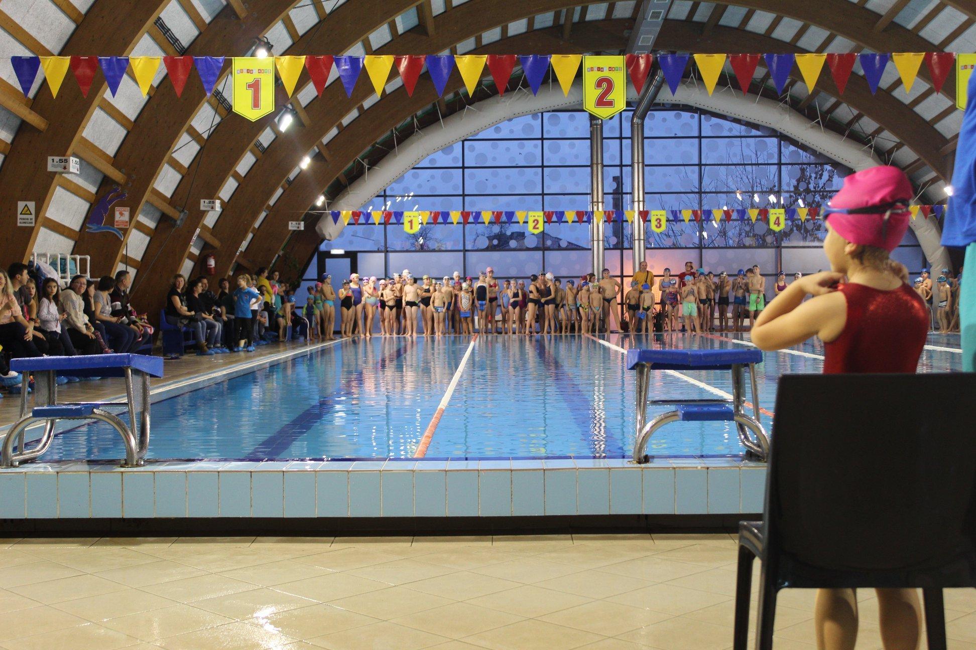 Câștigătorii concursului de înot intercluburi