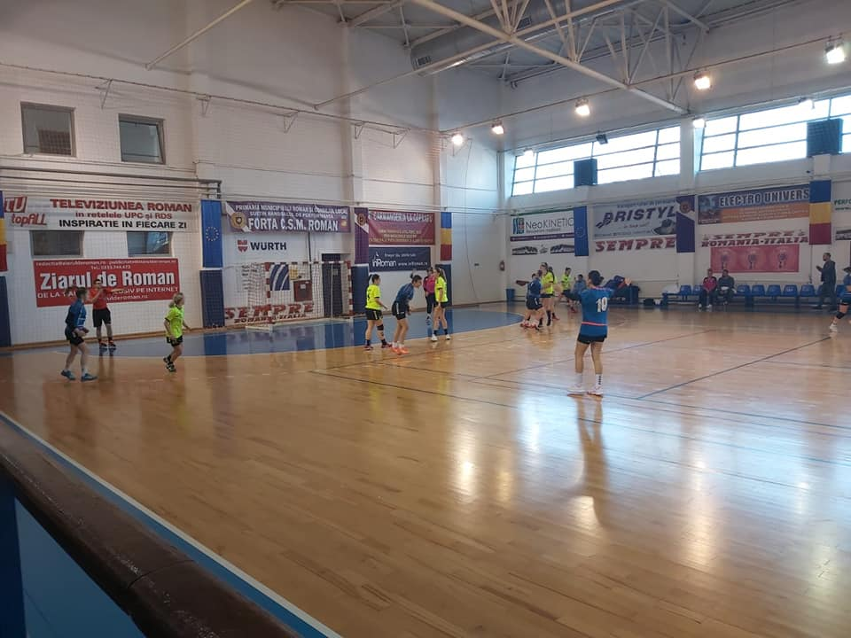 CSM Roman întâlnește marți Dunărea Brăila, în optimile Cupei României la handbal feminin