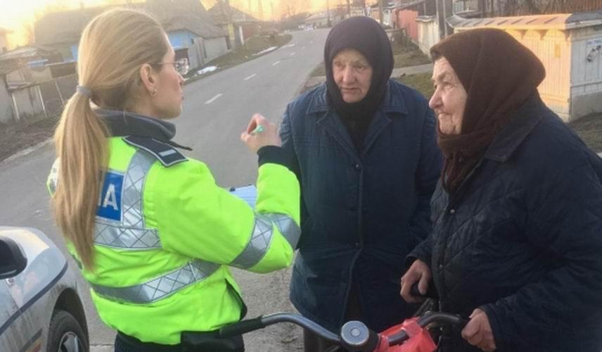 Acțiune a polițiștilor pentru prevenirea furturilor din locuințe, la Săbăoani