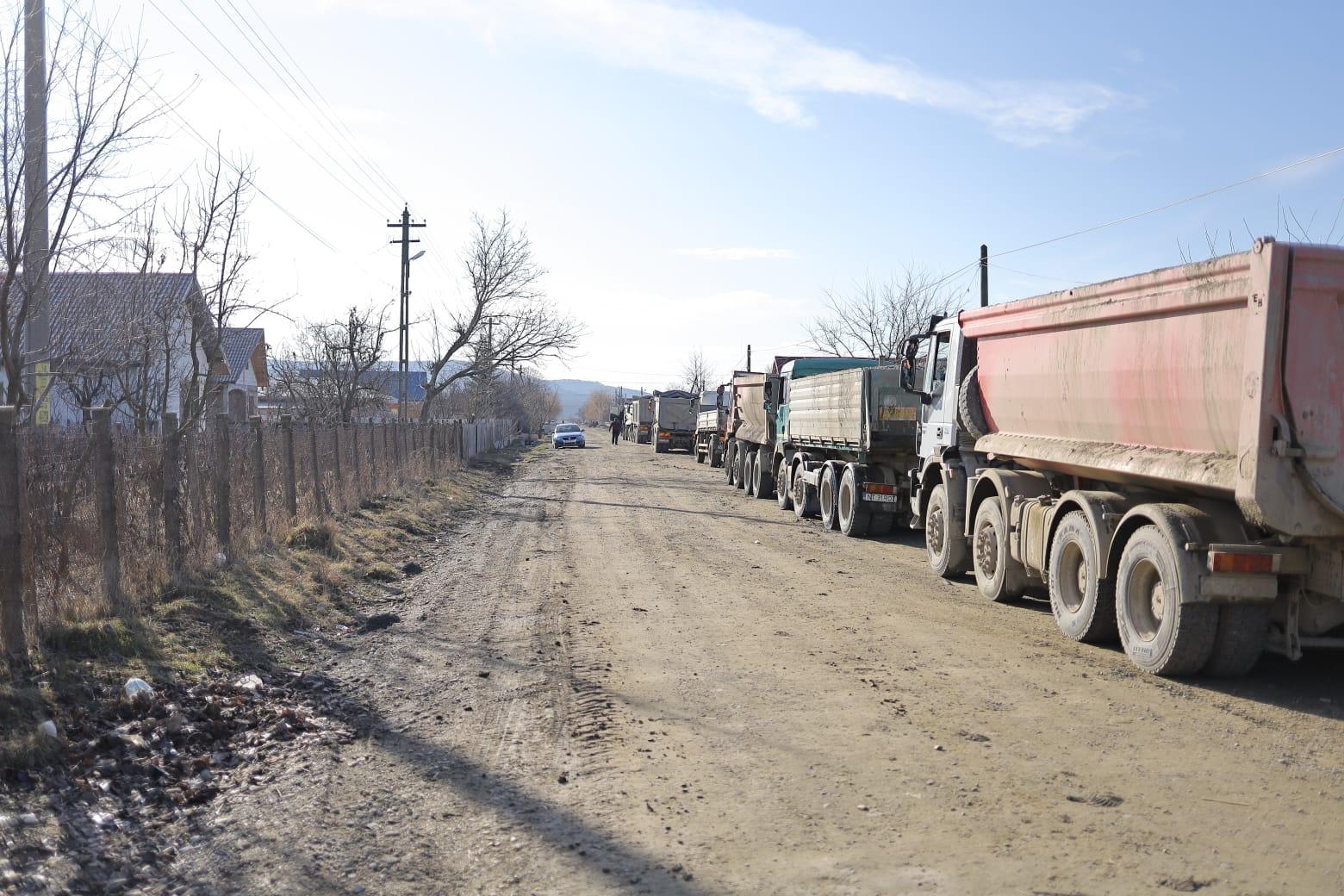 Drumul județean DJ 207D, între Sagna și Gâdinți, intră în reparații