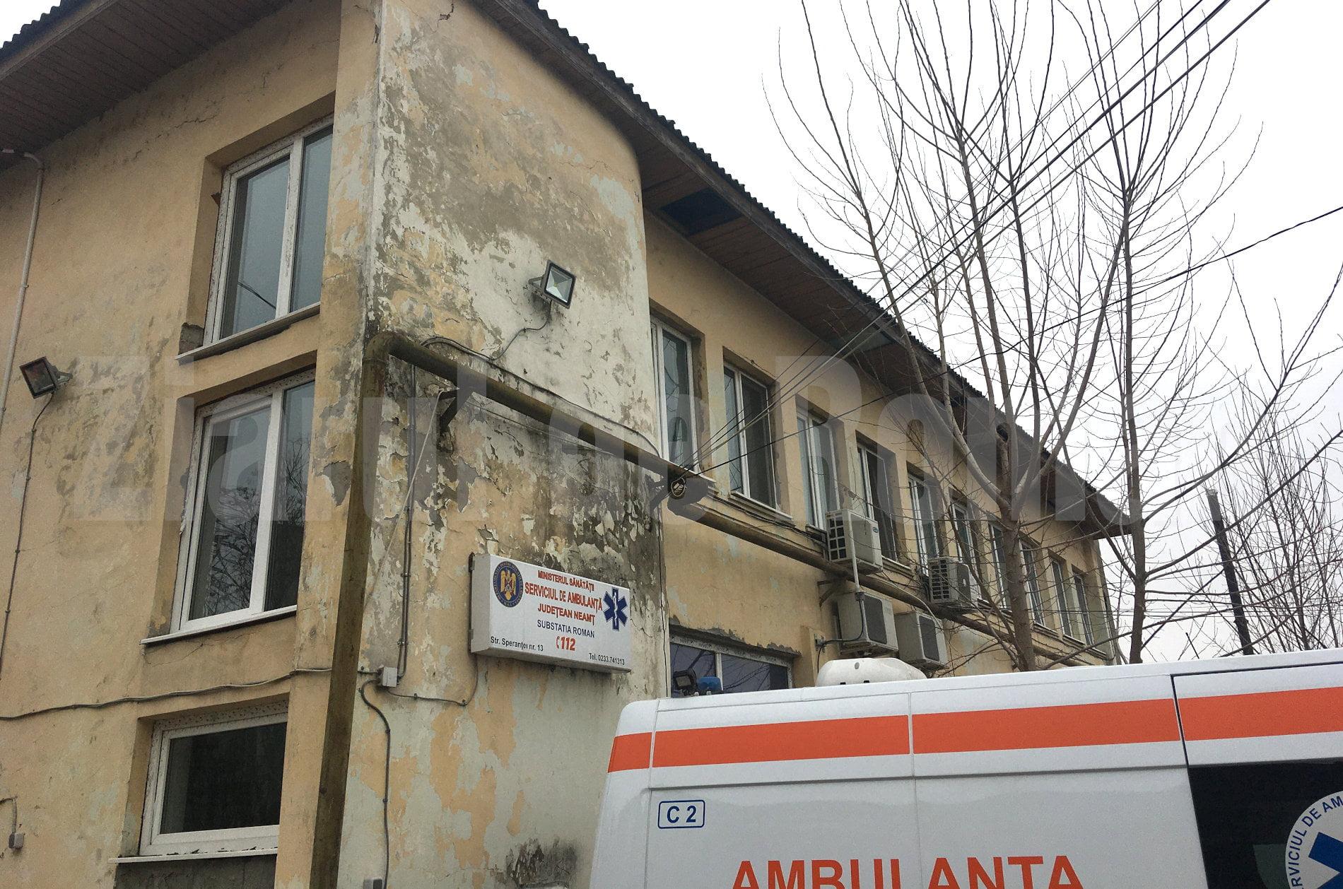 Investiții la Stația de Ambulanță Roman