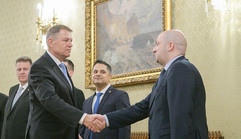 Deputatul romașcan Silviu Vexler, decorat de președintele Klaus Iohannis