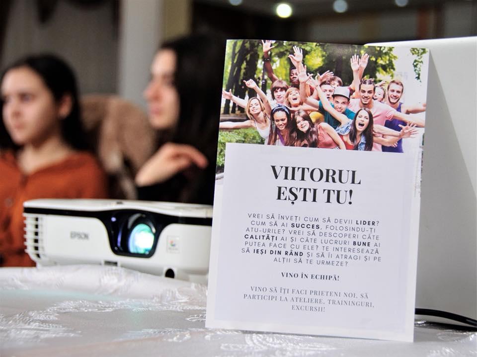 """""""Viitorul ești TU!"""" – un proiect pentru tineri, unic în România!"""