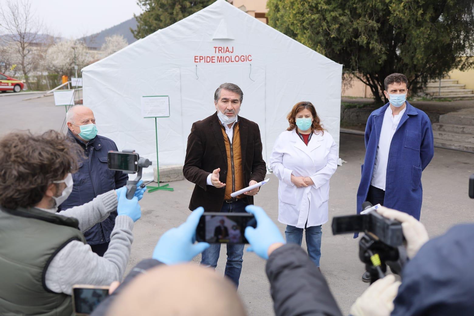 Noi măsuri luate de CJ Neamț în lupta împotriva epidemiei de coronavirus
