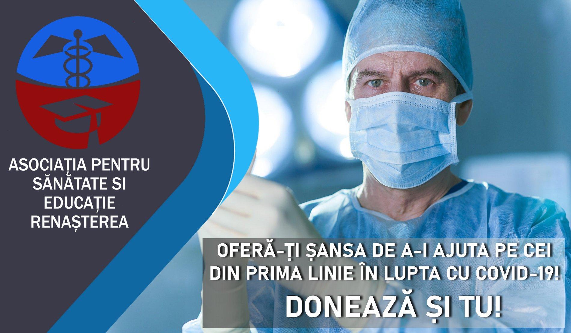 """Senatorul Dan Manoliu: """"Am hotărât și eu să donez jumătate din indemnizația mea pentru susținerea sistemului de sănătate din România"""""""