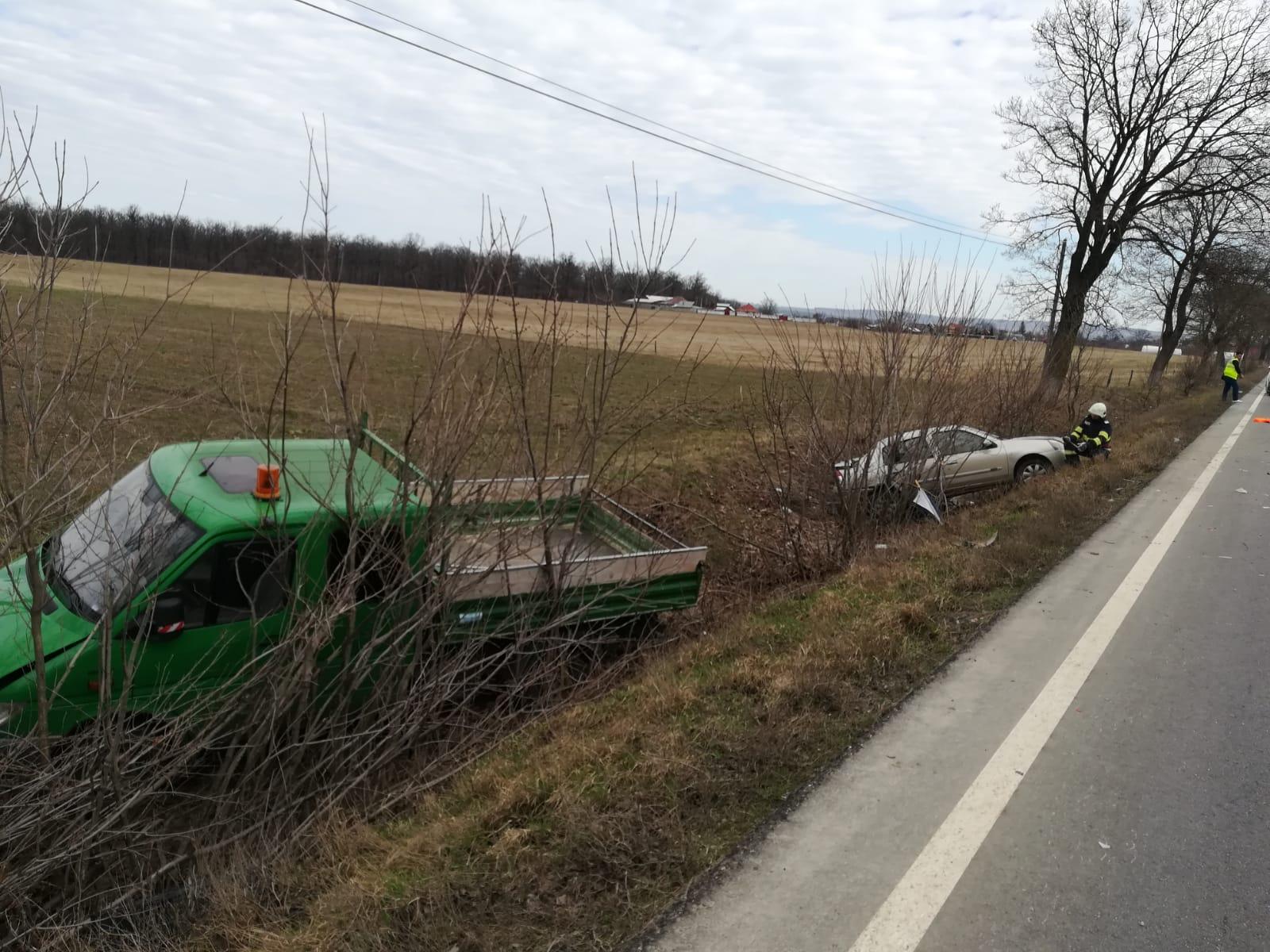 Șoferi din Botești și Bozieni, implicați într-un accident rutier în comuna Timișești