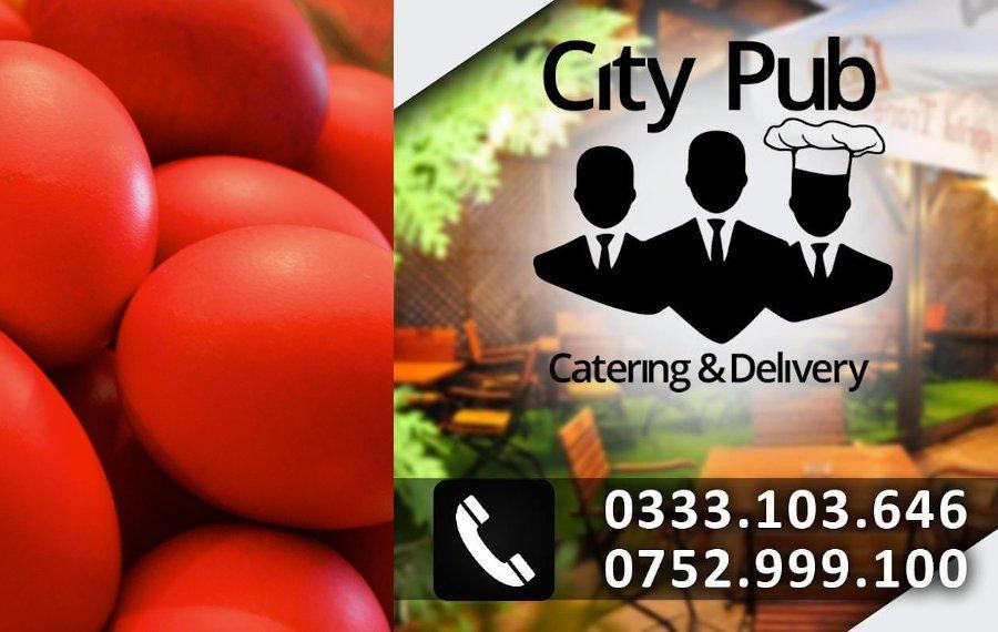 Masa de Paști e mai bogată și mai gustoasă cu preparatele CityPub & Bolta Rece Roman