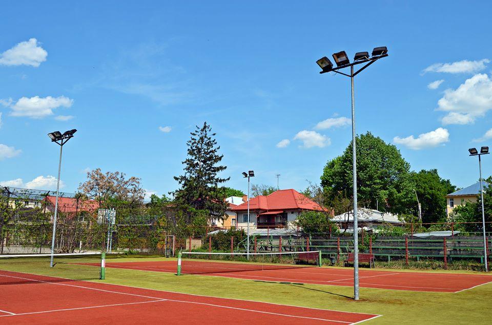 Se redeschid și terenurile de tenis de la Sala Sporturilor