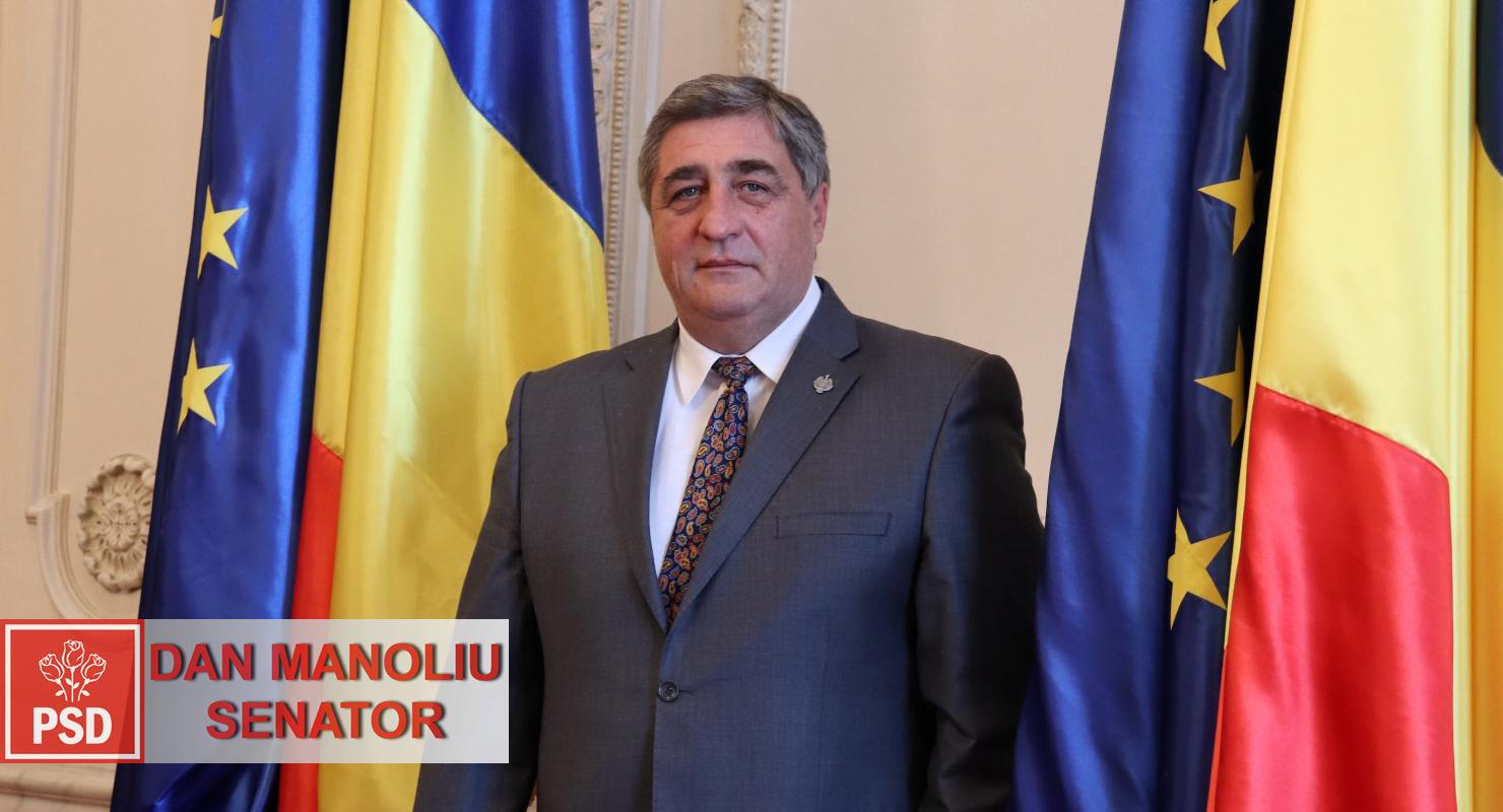 """Senatorul PSD Dan Manoliu: """"Guvernul manipulează datele despre pandemie!"""""""