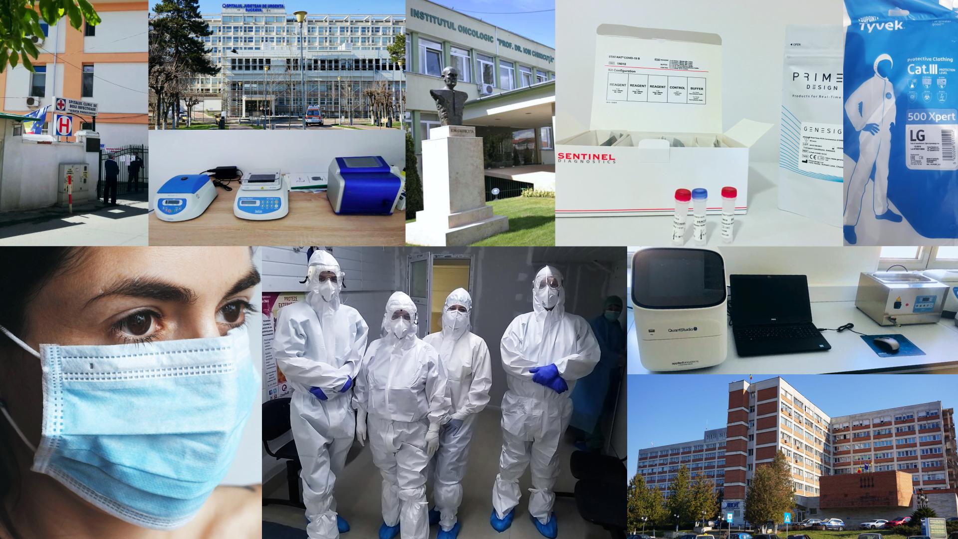 E.ON a sprijinit 16 spitale implicate în lupta împotriva COVID-19