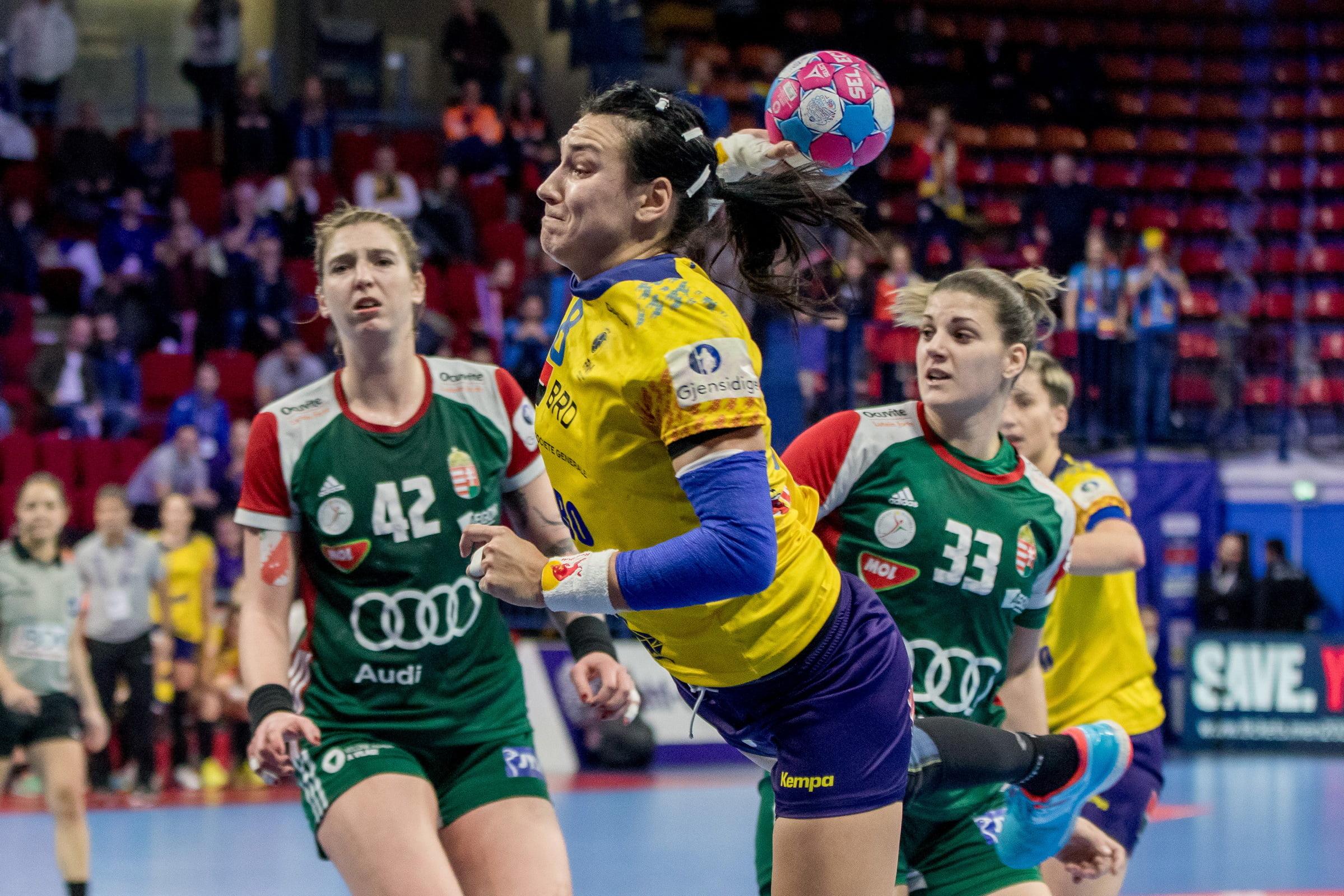 Grupă dificilă pentru România la Campionatul European de handbal feminin