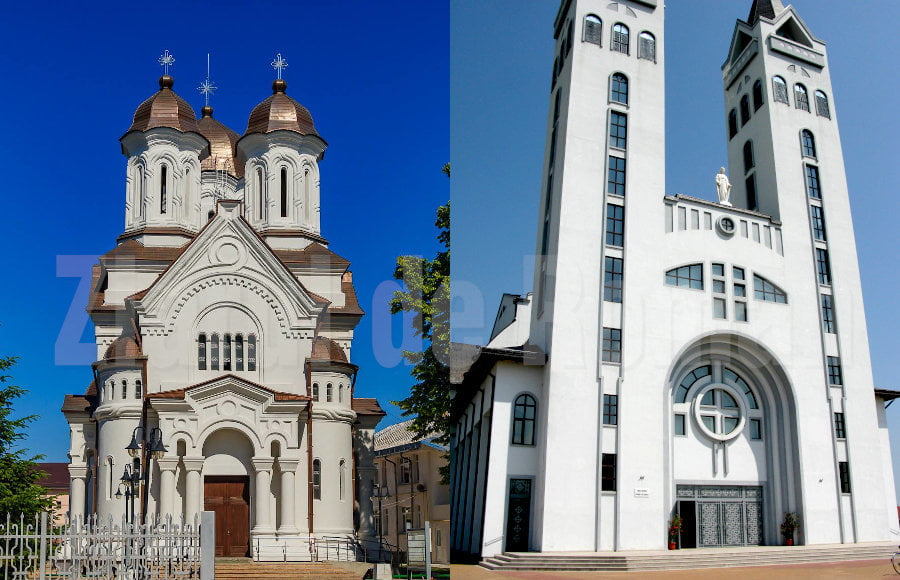 Preoți parohi noi pentru biserici catolice din Roman și Pildești