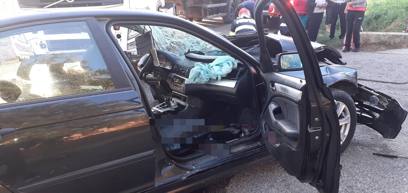 Neacordarea de prioritate, cauza accidentului cu două victime de la Ion Creangă