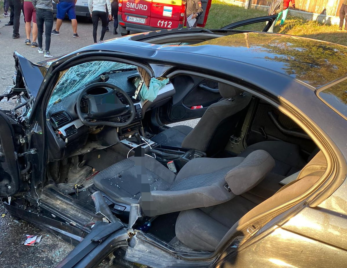 Accident rutier cu două victime la Ion Creangă