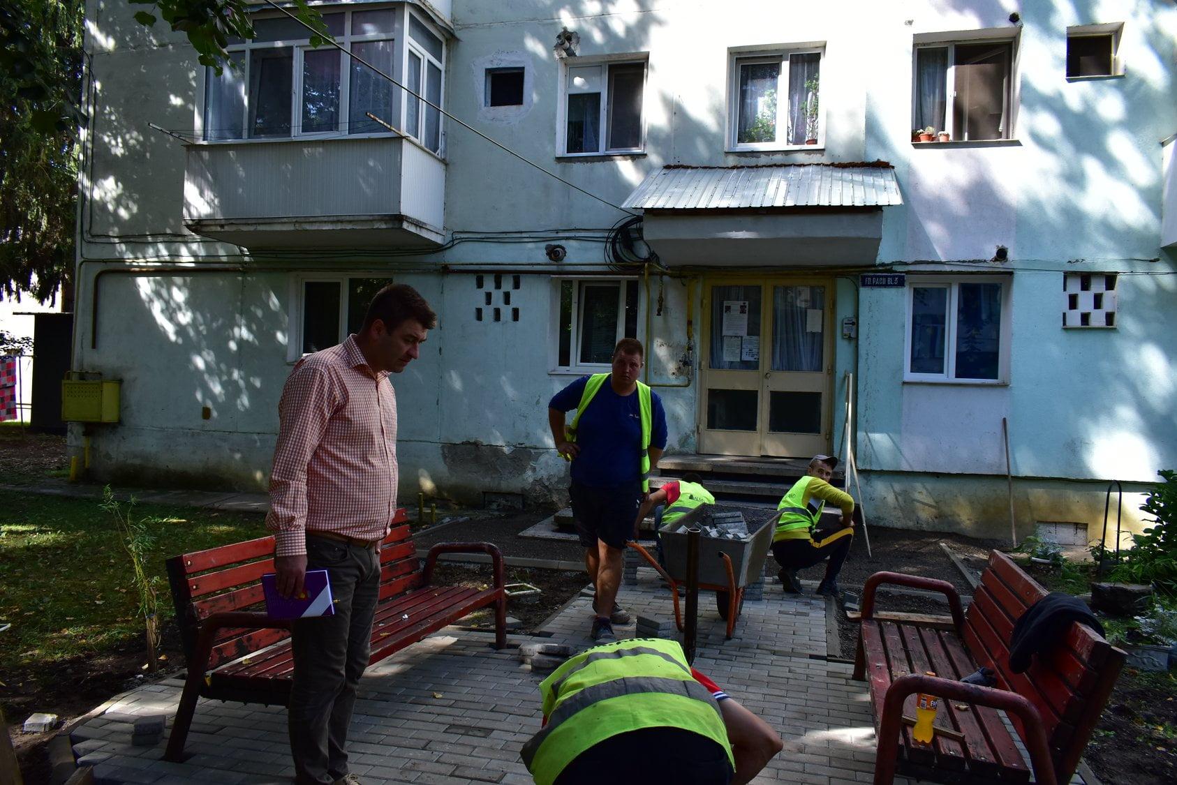 Care este stadiul lucrărilor pe șantierele din oraș