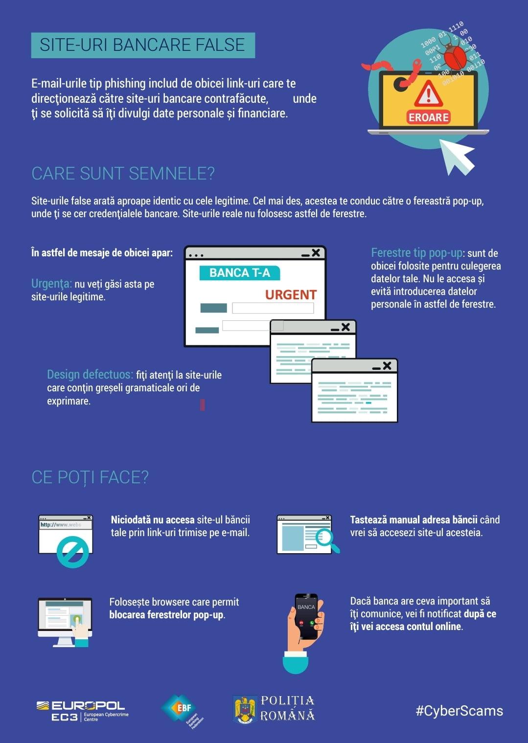 Campanie de prevenire a fraudelor informatice – Nu fi victima unor escrocherii cibernetice!