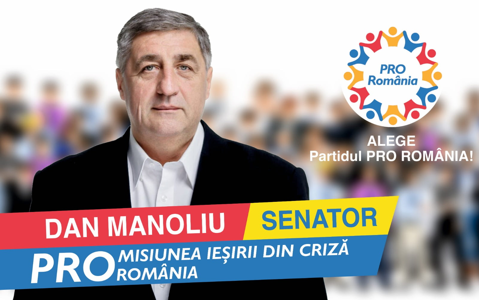 """Senatorul Dan Manoliu: """"Măsuri CONCRETE propuse de PRO România pentru a depăși criza economică"""""""