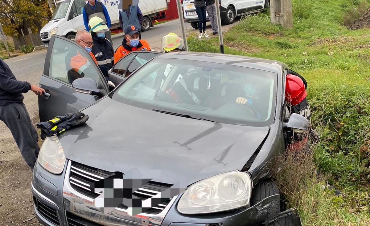 Accident rutier cu trei victime pe E85, la Secuieni