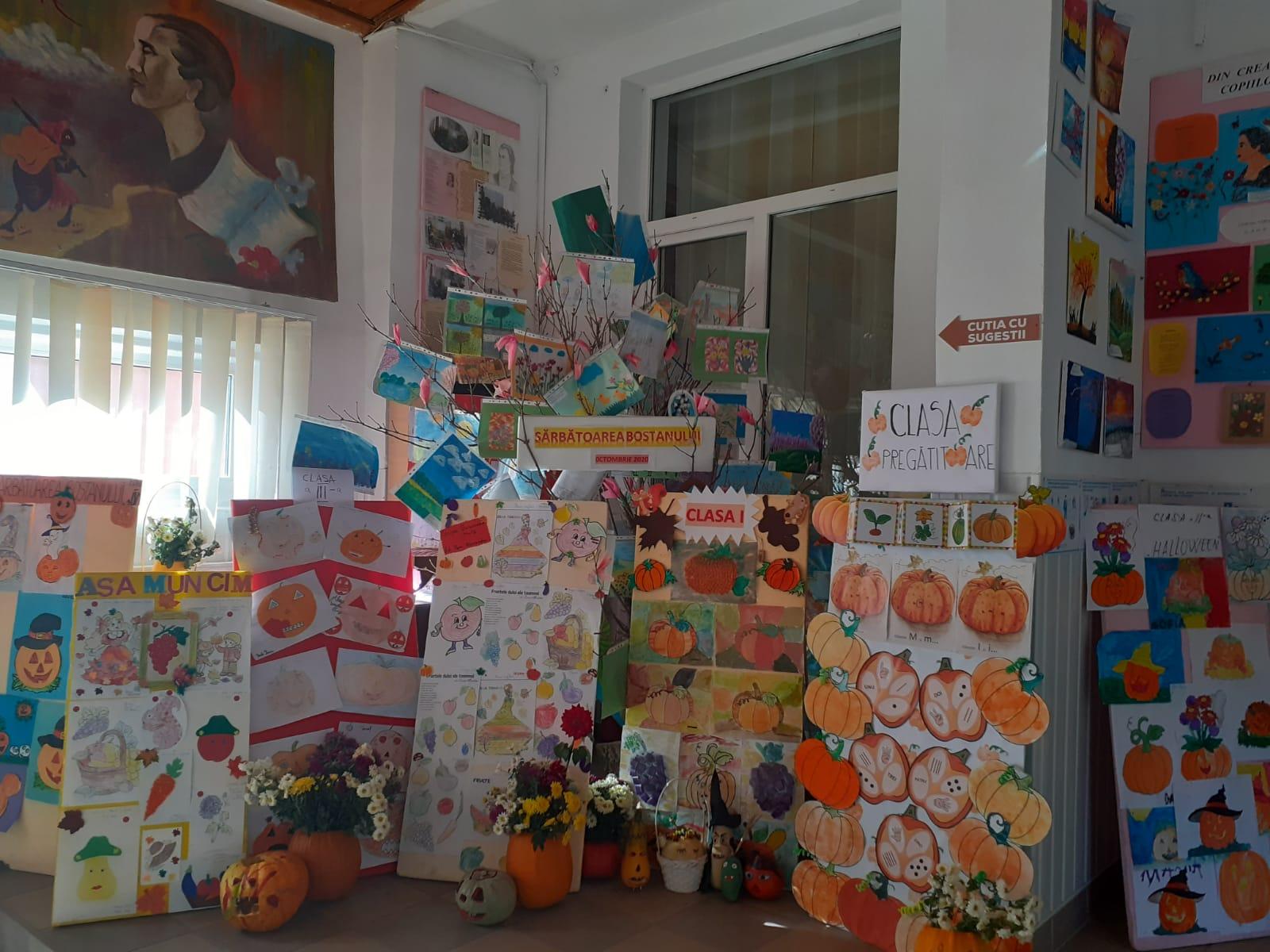 Sărbătoarea Bostanului, la Școala Cotu-Vameș